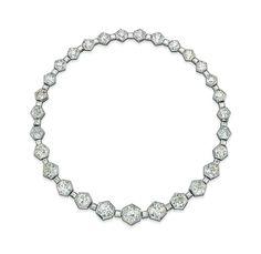 A diamond necklace #christiesjewels