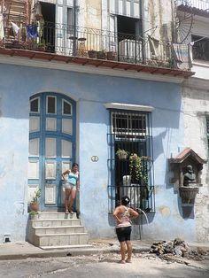 street life in old havana, cuba