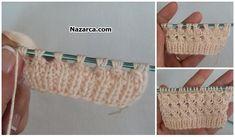 ŞİŞ İLE ÖRÜLEN EN KOLAY ÖRGÜ ÇOCUK BOLERO (RESİMLİ ANLATIMLI) | Nazarca.com Knitted Baby Clothes, Baby Mermaid, Crochet Accessories, Baby Knitting, Straw Bag, Model, Bags, Stuff To Buy, Jewelry