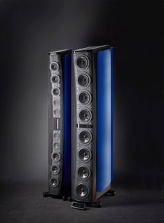 Mono and Stereo High-End Audio Magazine: Gryphon Audio Kodo speaker system official photos