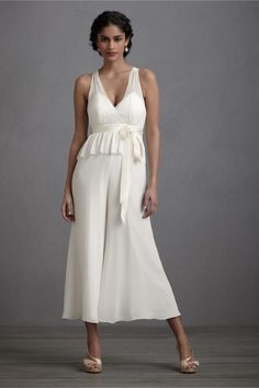 haha...  WEDDING JUMPSUIT!!!    Lady Lindy Jumpsuit in Sale at BHLDN