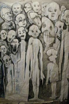 Affiche - Acrylique et craie