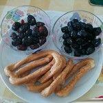 Olive di Cerignola e Scaldatelli al finocchio...tanto per iniziare! #puglia #sud Olive, Vulture