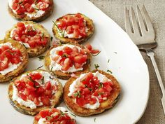 Eggplant Ricotta Bites from #FNMag #myplate #dairy #veggies