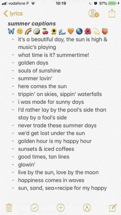 summer quotes summer captions // quotes // insta c - quotes Bio Instagram, Summer Quotes Instagram, Instagram Caption Lyrics, Instagram Caption Ideas, Friends Instagram, Instagram Bios For Girls, Instagram Story, Instagram Username Ideas, Inspirational Instagram Quotes