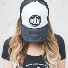 Miles and Pace Run Foam Trucker Hat