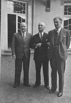 Soviet Foreign Minister Vyacheslav Molotov, US Secretary of State James F. Byrnes and British Foreign Secretary Anthony Eden, Potsdam Conference, July 1945.
