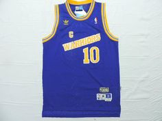 Nba Well-designed Golden State Warriors  10 Mens Adidas Top Quality  Throwback 18a980a1a8af