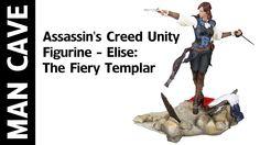 Man Cave: Assassin's Creed Unity Figurine - Elise: The Fiery Templar