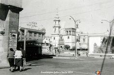 Fotos de Guadalajara, Jalisco, México: ESCENA CALLEJERA Hacia 1955