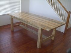 custom log dining room tables | Hand Crafted Custom Beetle Kill Pine Dining Table by Alpine Furniture ...