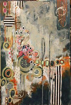 Magie se produit ||  Burton à la Galerie par Jennifer Ferris Drummond Mixed Media ~ 36 x 24