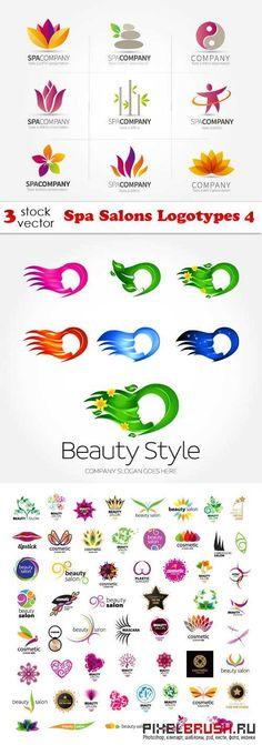 Vectors - Spa Salons Logotypes 4
