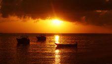 Sunrise at Kanyakumari (Tamil Nadu, India)