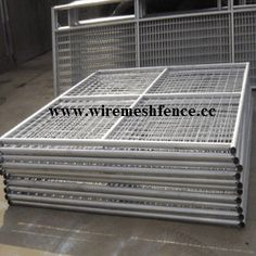 Temp fencing in chaoxinfence    www.wiremeshfence.cc