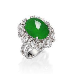 Bonhams : Fine Jewelry & Jadeite in 2020 Star Jewelry, Jade Jewelry, Gems Jewelry, Jewelry Art, Diamond Jewelry, Jewelery, Jewelry Design, Fashion Jewelry, Women Jewelry