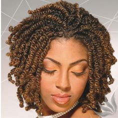 "Among African hairstyles, kinky twists are some of the most beloved in the community. Generally, this style is recommended for girls and women with curly or ""kinky"" hair, hence the name. Twist Braid Hairstyles, African Braids Hairstyles, My Hairstyle, Twist Braids, Black Hairstyles, Protective Hairstyles, Hair Twists, Short Crochet Braids Hairstyles, Popular Hairstyles"