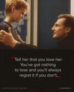 To Celebrate The 'Love Actually' Sequel: 17 Quotes On Love . Actually -- womendotcom Love Quotes Movies, Quote Movie, Best Love Movies, Famous Movie Quotes, Tv Quotes, Picture Quotes, Love Actually Movie, Love Actually Quotes, Love Actualy
