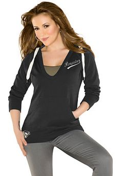 In The Bleachers pullover hoodie from the Touch by Alyssa Milano collection