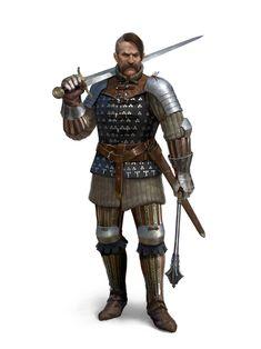 Medieval Fantasy, Sci Fi Fantasy, Paladin, 14th Century, Horror Art, Character Illustration, Saga, Science Fiction, Deadpool