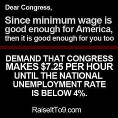 Minimum wage means living below the poverty line for many people. Raising it to at least $ 9 is completely reasonable and doing so would lift a significant number of people out of poverty, which would benefit society as a whole. via KAFTMC