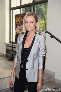 Agnieszka Szulim - silver jacket