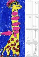 How to draw a giraffe art projects for kids art zoo рисунок, Drawing Projects, Drawing Lessons, Art Projects, Giraffe Drawing, Giraffe Art, Drawing For Kids, Art For Kids, First Grade Art, Kindergarten Art