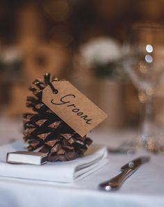 Finding the right decor for a winter wedding is stressful. How do you keep it elegant without a Frosty the Snowman vibe? Here, 8 winter wedding trends, from the ceremony aisle to the escort cards, that will have you swooning. Winter Wedding Receptions, Winter Wedding Favors, Winter Wedding Decorations, Wedding Events, Decor Wedding, Wedding Ideas, Winter Weddings, Small Winter Wedding, Snow Wedding