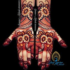 Henna Design Only Palm Images Gallery - Top Henna Design Only Palm Pictures for Girl with Cute Design. Best henna design images collection for Girl Henna Hand Designs, Mehndi Designs 2018, Dulhan Mehndi Designs, Modern Mehndi Designs, Wedding Mehndi Designs, Mehndi Design Pictures, Beautiful Mehndi Design, Henna Tattoo Designs, Mehndi Tattoo