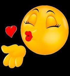 1 million+ Stunning Free Images to Use Anywhere Emoticon Love, Emoji Love, Cute Emoji, Funny Emoji Faces, Funny Emoticons, Smileys, Meme Faces, Kiss Emoji, Smiley Emoji