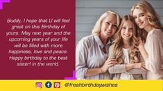 Happy Birthday Mother Images Free Download - Happy Birthday Wishes Happy Birthday Mom Images, Happy Birthday Mother, Mom Birthday Quotes, Special Birthday, Happy Birthday Wishes, Image Mom, Mother Images, Best Sister, Mother Quotes