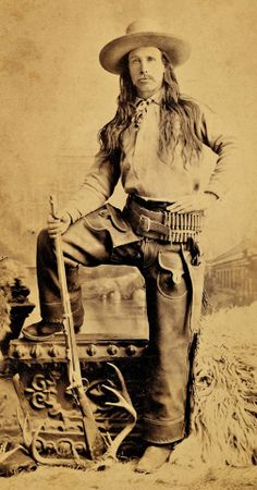 Prior to his election as Sheriff of Apache County, Arizona in 1886, Owens worked on ranches in Oklahoma and New Mexico. Supported by the Stockgrower's Association, Owens later became Sheriff of one of Arizona's largest counties. Seen here with his unique gun belt and holster and Springfield sporter, Owens was using a Winchester on Sunday, September 4, 1887 when he shot it out with the Blevins brothers in Holbrook. In the 1890s, CP Owens served as a Deputy US Marshal and Deputy Sheriff