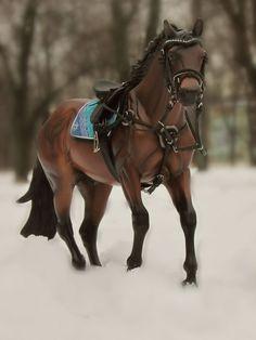 Model Horse Tack by Tikhova Katerina aka Romeliena
