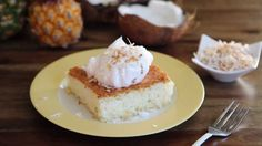 Cake Recipes - How to Make Pineapple Angel Food Cake