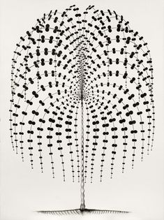 """Ric Heitzman, """"Palm No. For stained glass Music Illustration, Graphic Design Illustration, Tree Tat, Black And White Abstract, Patterns In Nature, Black And White Pictures, Shades Of Black, Art Music, Embroidery Patterns"""