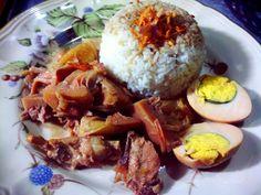 kedai BEBEK BENYEK : Nasi Gudeg khas @bebekbenyek