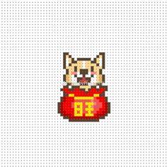 微博 3d Perler Bead, Perler Bead Templates, Cross Stitch Fabric, Beaded Cross Stitch, Hama Beads Patterns, Beading Patterns, Pixel Art Grid, Iron Beads, Pokemon