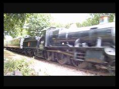 steam trains in action