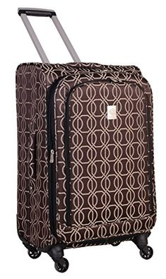 Shop for Jenni Chan Links 360 Quattro Blue Spinner Upright. Get free delivery On EVERYTHING* Overstock - Your Online Luggage Shop! Best Travel Luggage, Luggage Shop, Carry On Luggage, Luggage Bags, Samsonite Luggage, Shirts For Teens, Jenni, Reading