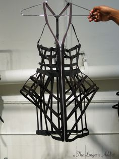 Chromat: Spring/Summer 2015 - These cage dresses are so sculptural, more art than lingerie. Amazing.