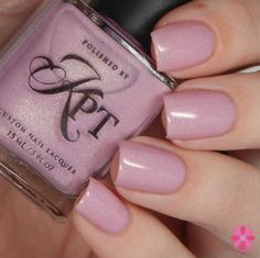 Brand: Polished by KPT // Collection: So SoCal (2015) // Color: Meet Me @Pink // Blog: Cosmetic Sanctuary
