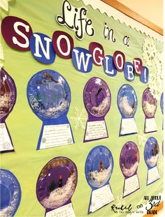 Snow globe winter writing prompt and bulletin board display. Snow globe winter writing prompt and bulletin board display. Snow globe winter writing prompt and bulletin board display. Snow globe winter writing prompt and bulletin board display. December Bulletin Boards, Writing Bulletin Boards, Kindergarten Bulletin Boards, Christmas Bulletin Boards, Winter Bulletin Boards, Bulletin Board Display, Display Boards, Classroom Ideas, Classroom Board