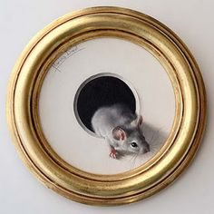 Mouse Painting - Marina Dieul