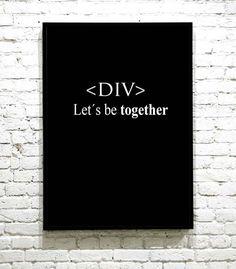 Stilig gave til en nyutdannet webdesigner. Give Me A Break, Give It To Me, Let It Be, Letter Board, I Shop, Lettering, Poster, Drawing Letters, Brush Lettering