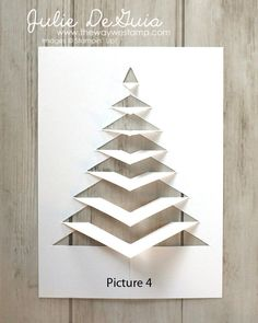 Diy christmas cards 409053578654901841 - Christmas and Holiday Card Ideas Homemade Christmas Cards, Christmas Greeting Cards, Diy Christmas Gifts, Christmas Projects, Handmade Christmas, Homemade Cards, Christmas Fun, Paper Christmas Trees, Stampinup Christmas Cards
