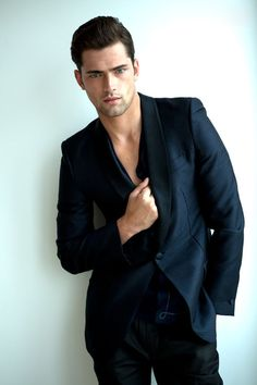 just blue Sean O'Pry My new obsession :)