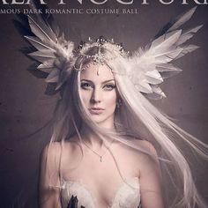 Swan Princess Headdress by Fairytas