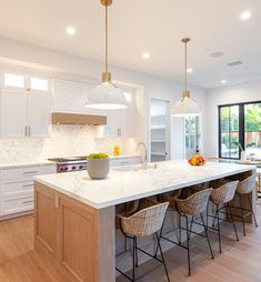 Kitchen Paint Colors, Wall Paint Colors, Grey Interior Doors, Folding Patio Doors, Painting Bathroom Cabinets, Kitchen Time, Countertop Materials, Kitchen Trends, Interior Design Kitchen