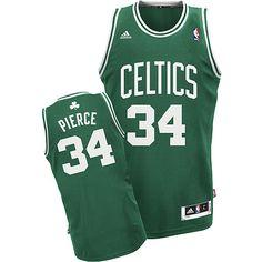 f316c6b5008b Adidas NBA Boston Celtics 34 Paul Pierce New Revolution 30 Road Green Jersey  Cheap Nba Jerseys