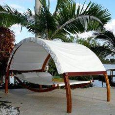 covered hammock